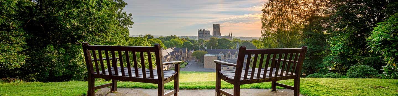 Durham dans le nord de l'Angleterre