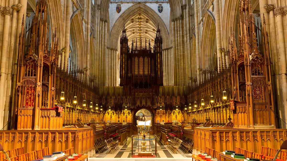 York Minster in Yorkshire
