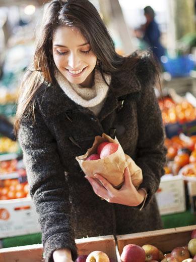 Le marché aux fruits et Humber Street