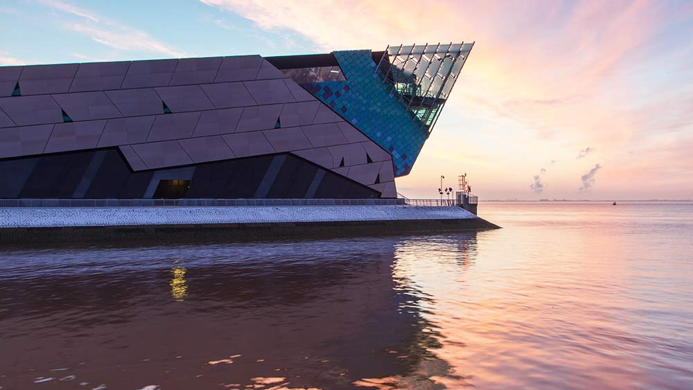 The Deep Aquarium in Hull England