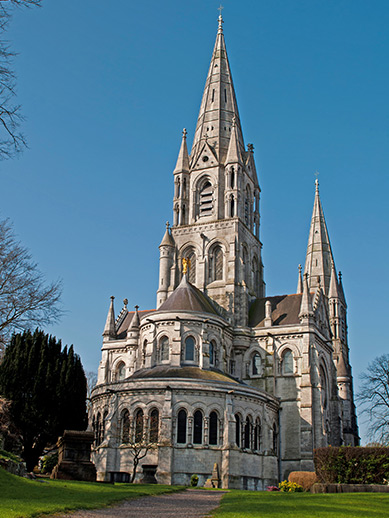 Cork Cathedral in Ireland