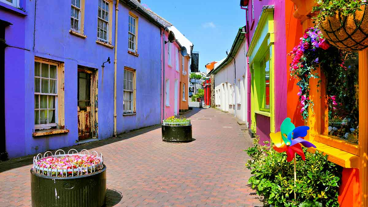 Kinsale  in County Cork, Ireland