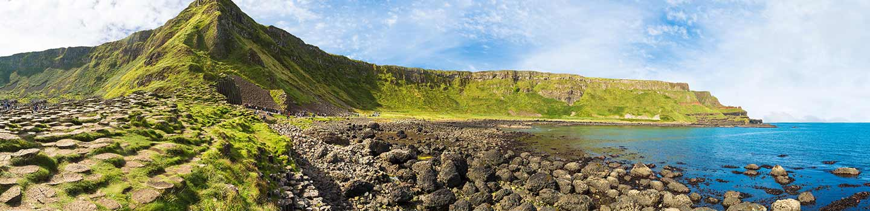 Giant's Causeway in Nordirland