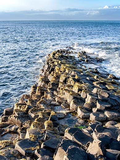 Giant's Causeway in Irland