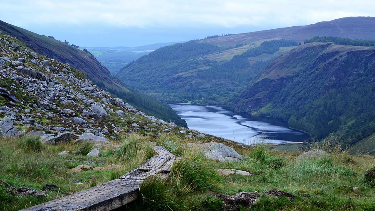 Glendalough in County Wicklow