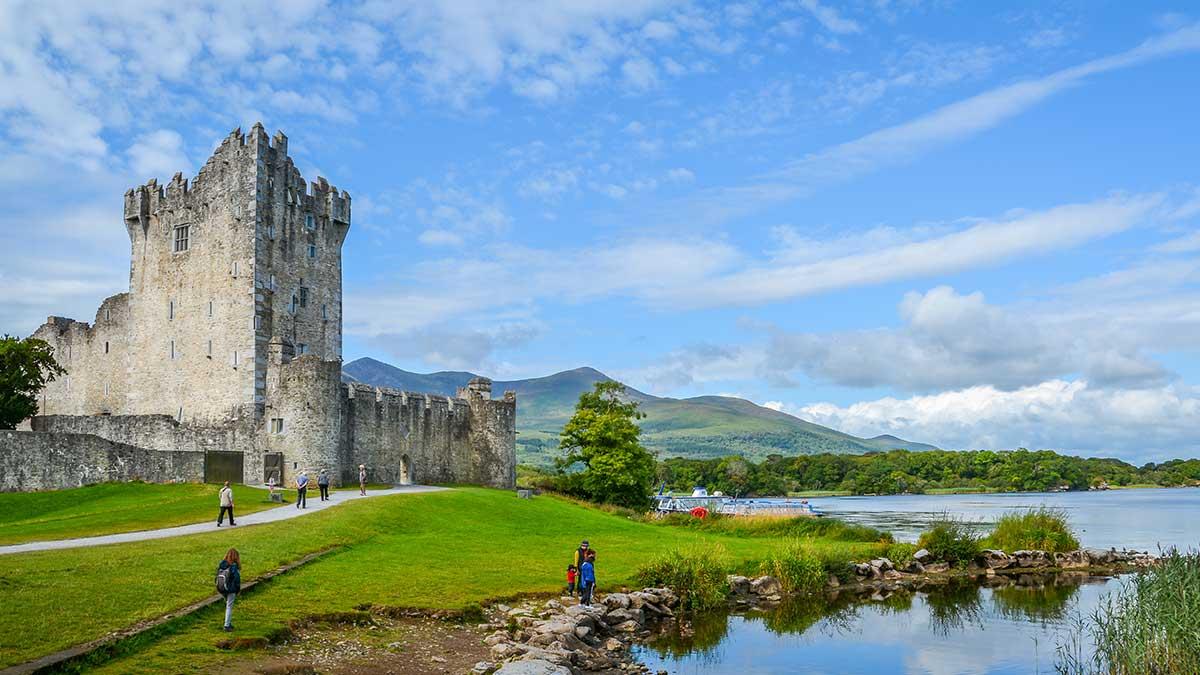 Ross Castle in Irland