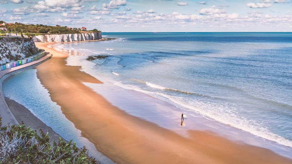 Botany Bay Broadstairs Kent England