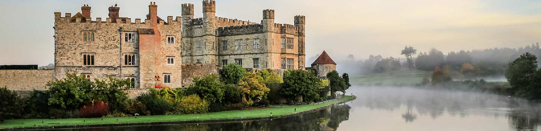 Leeds Castle in Kent, England