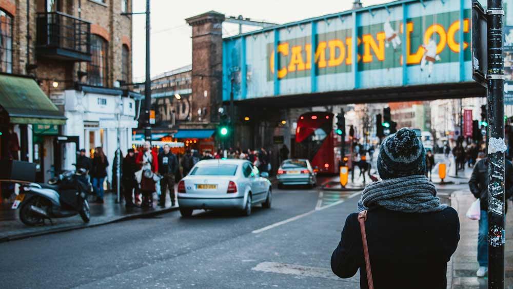 L'écluse de Camden à Londres