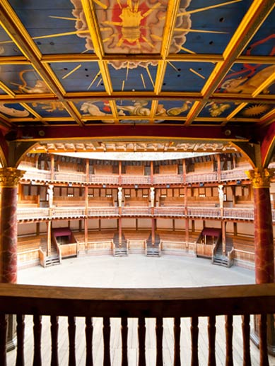 Globe Shakespeare Theatre in London