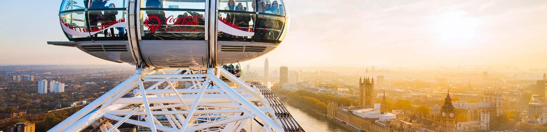 Le London Eye en Angleterre