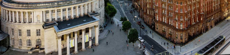 Saint Peters Square Manchester England