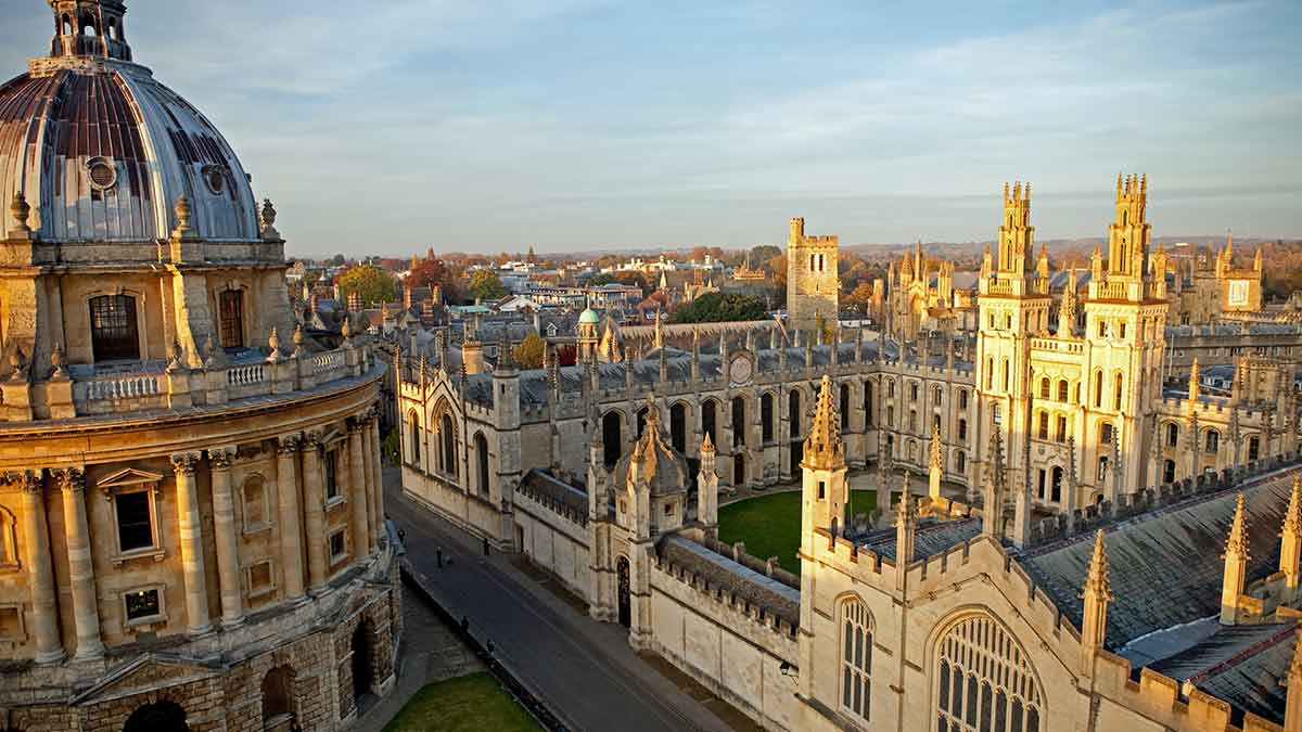 All Souls College in Oxford England