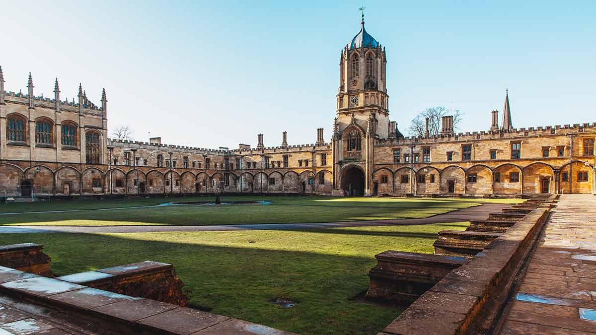 Christ Church University in Oxford