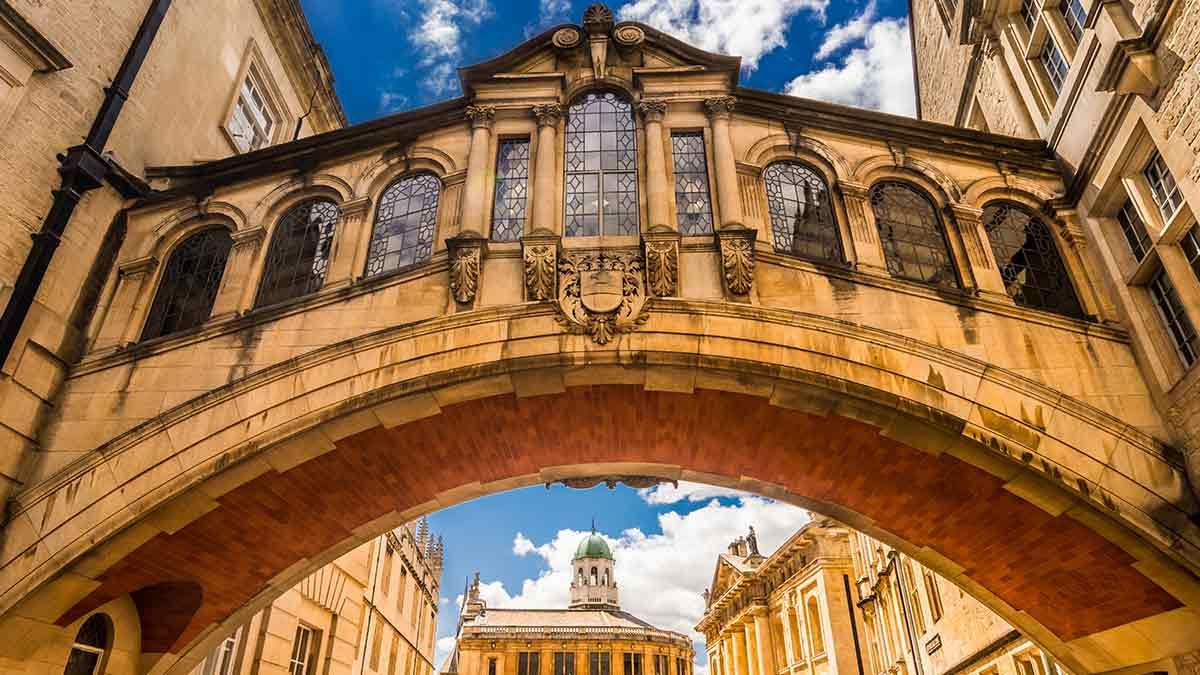Hertford-brug in Oxford