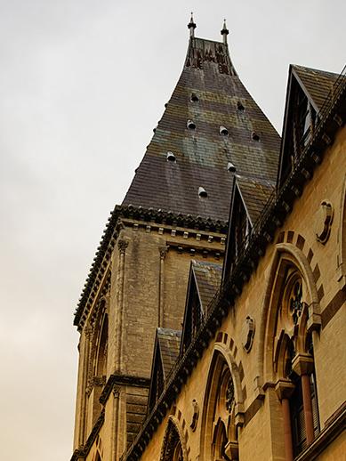 Natuurhistorisch museum in Oxford