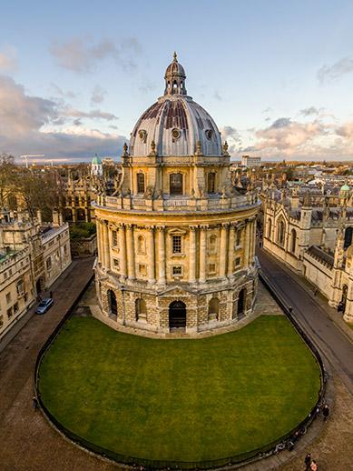 Universiteit van Oxford-bibliotheek