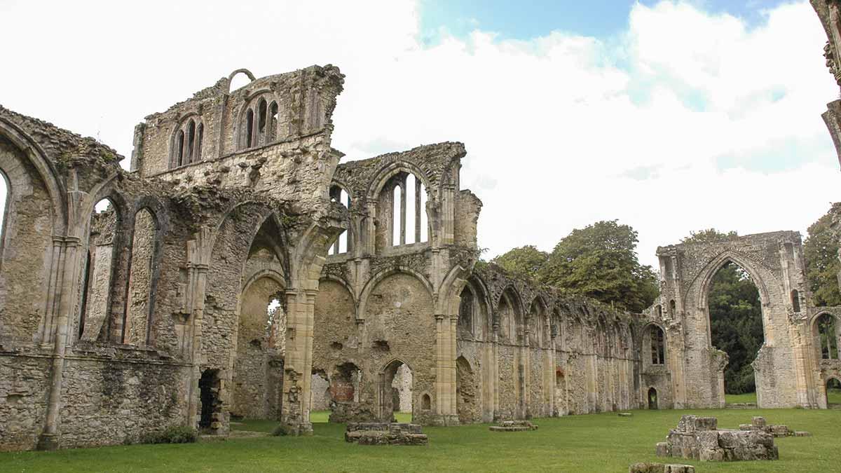 Netley Abbey in Southampton