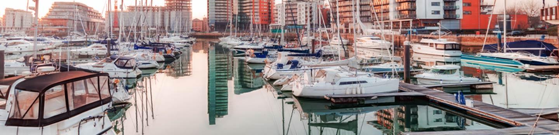 Village de la marina à Southampton