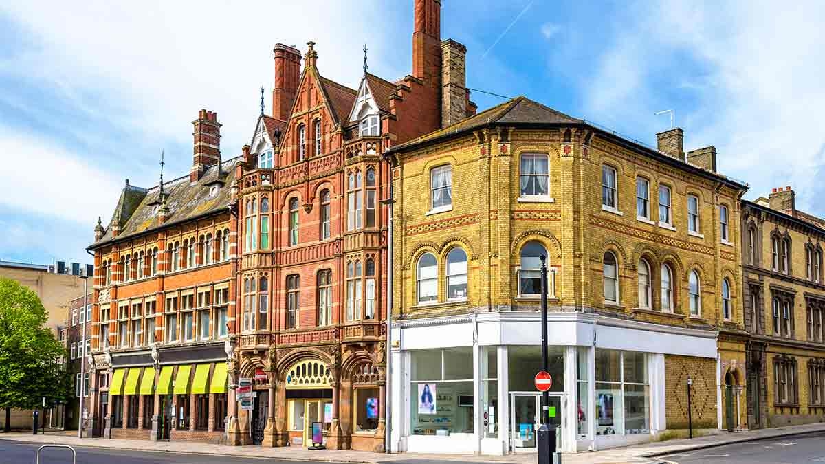 Southampton-Stadtzentrum
