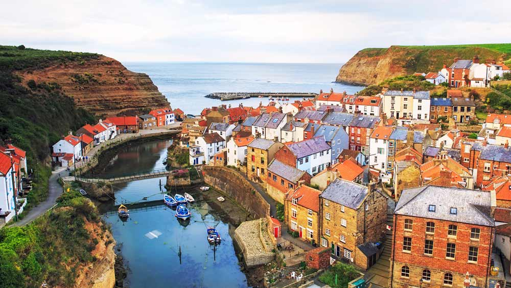 Scarborough in Yorkshire, England