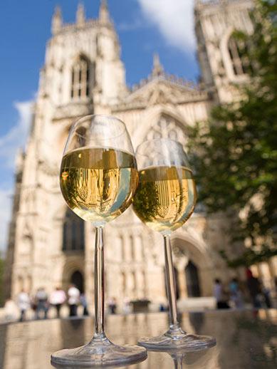 La cathédrale de York au Royaume-Uni