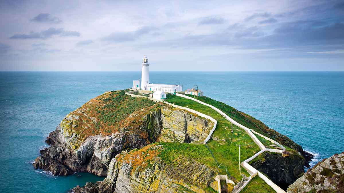 Anglesey in Wales, UK