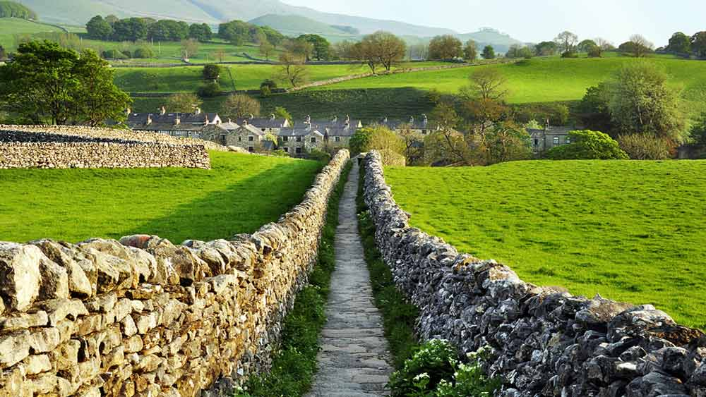 Yorkshire Dales in Engeland