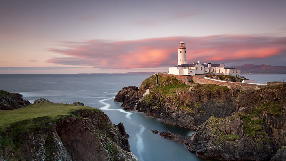 Lighthouse in County Donegal