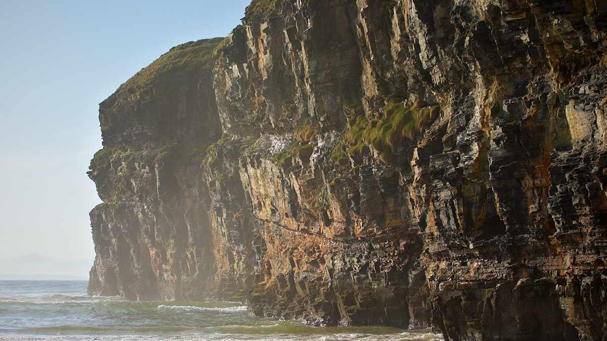 Felsen in der Grafschaft Kerry