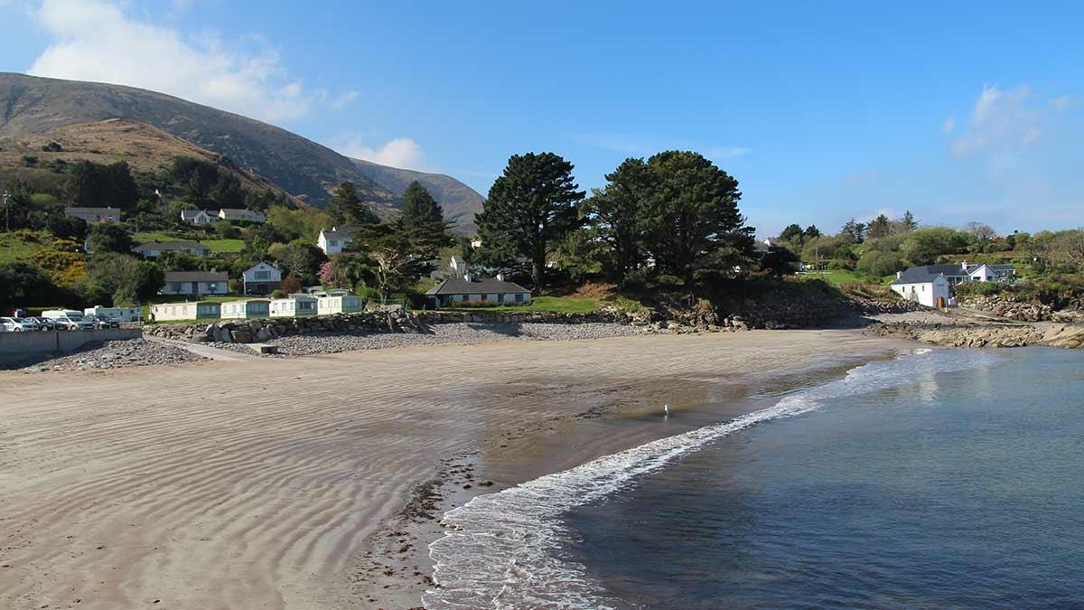 Graafschap Kerry kustlijn