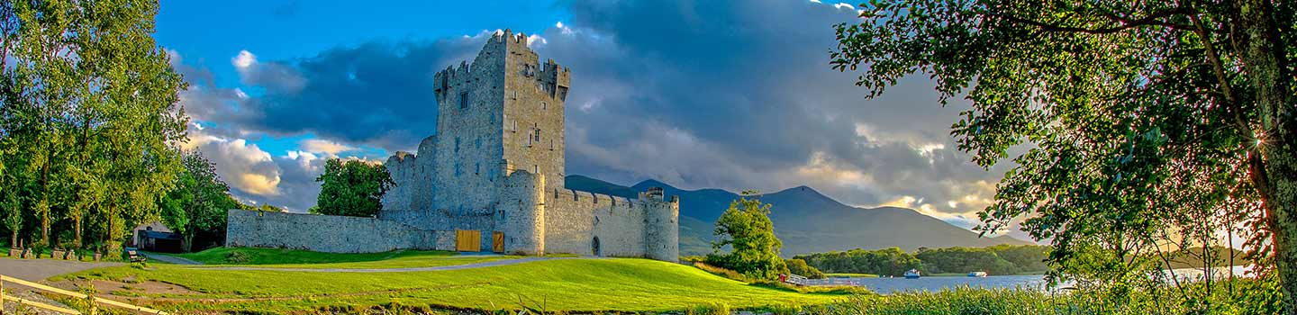 Kilarney National Park in Kerry, Ierland