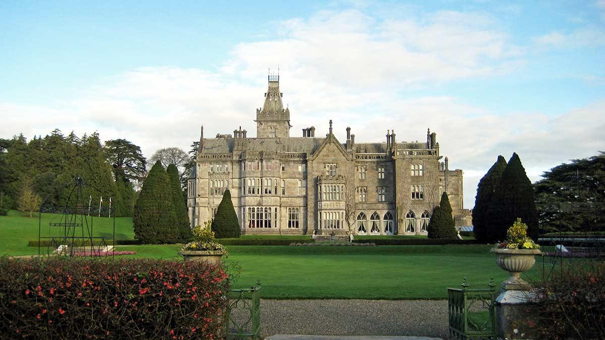 Le manoir d'Adare dans le comté de Limerick