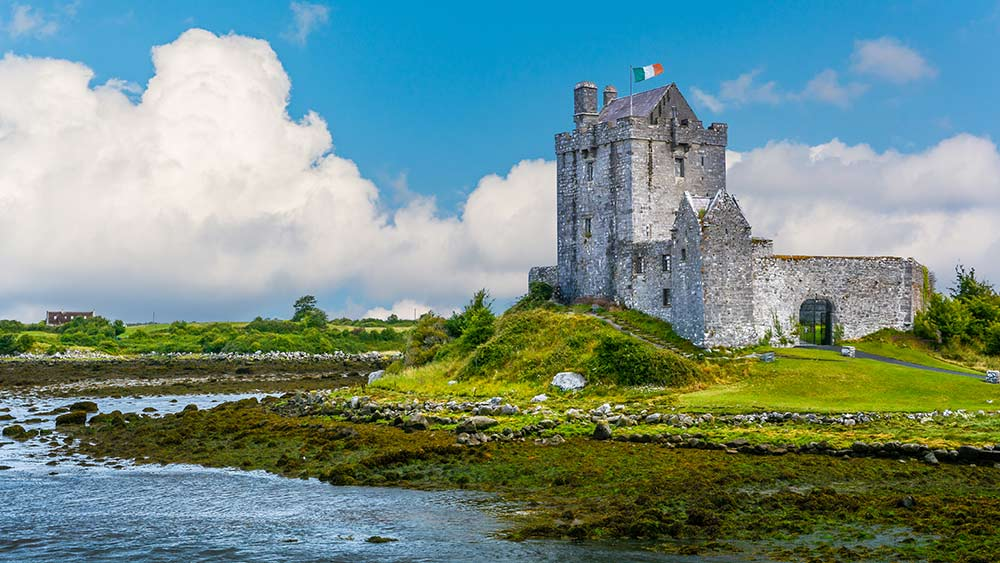Dunguaire Castle in Galway