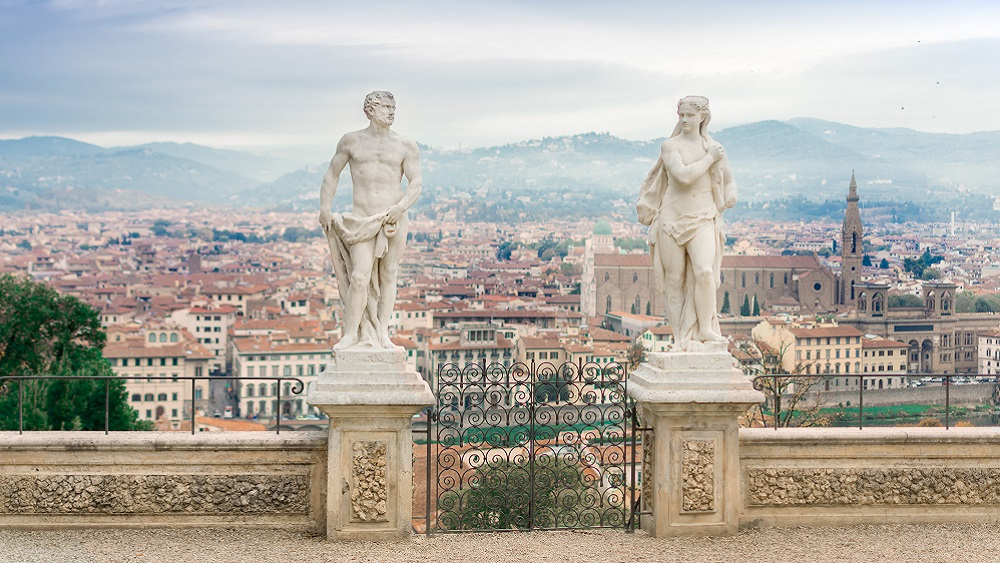 Statues in Florence