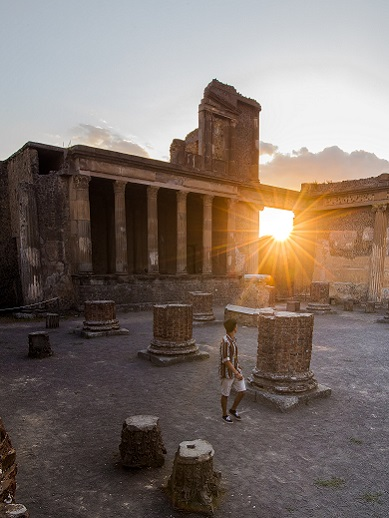 Day trips from Naples - Pompeii