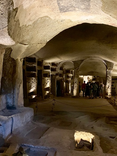Visit Naples Catacombs in Italy