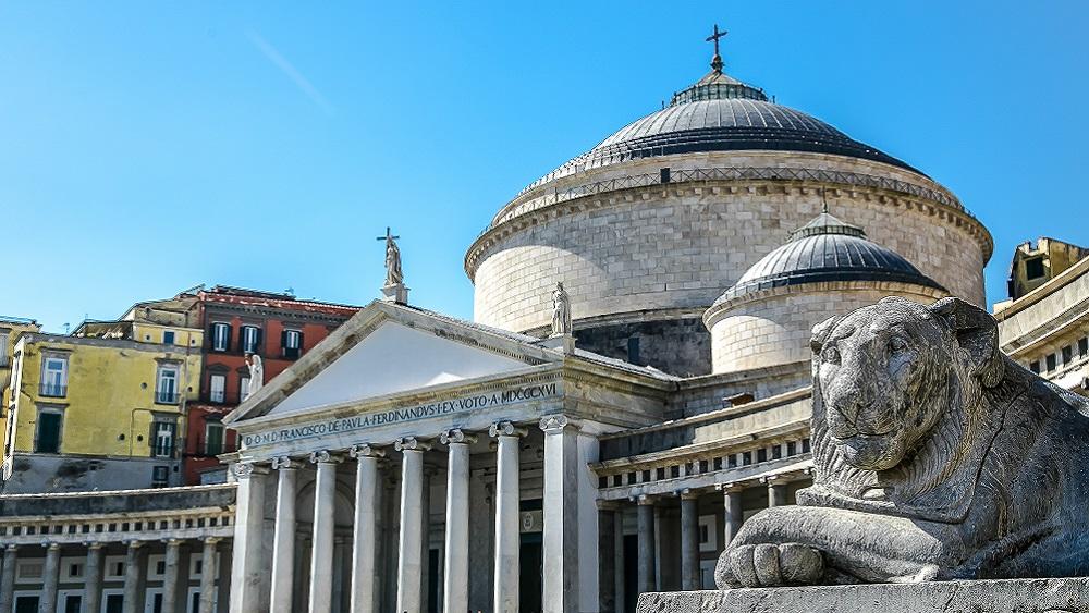 Main square in Naples