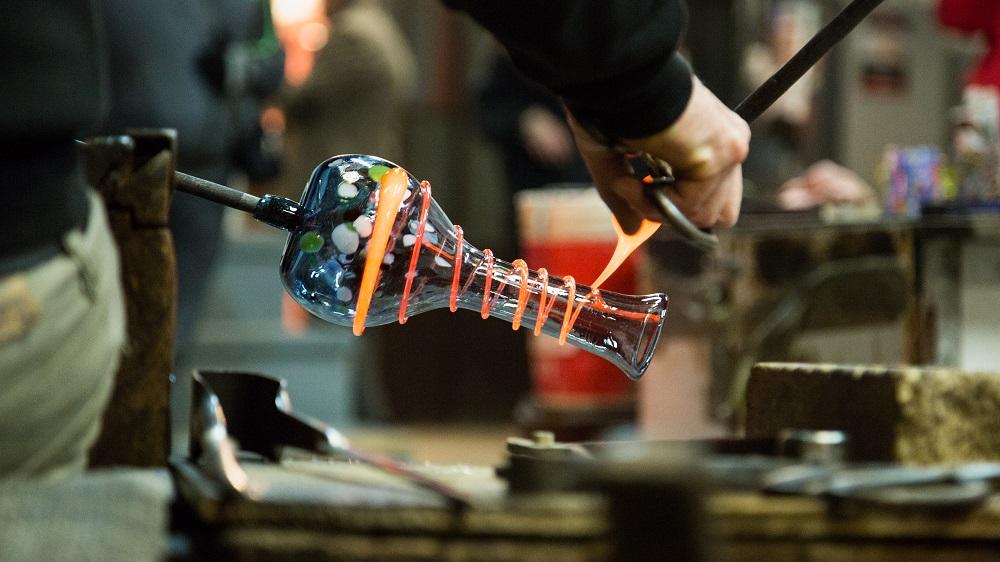 Glassblowing on Murano Island - Venice