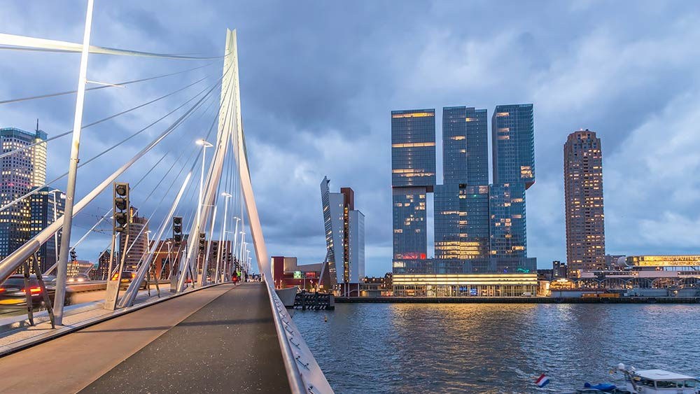 Rotterdam in the Netherlands