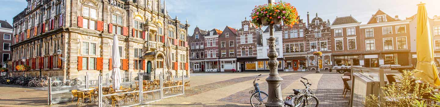 Delft Square in Netherlands