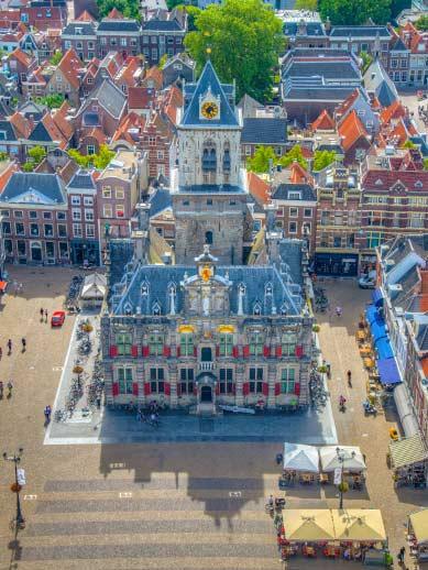 Town Hall Market Square Delft