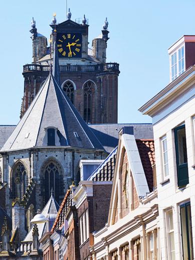 Beautiful architecture in Dortdrecht, Netherlands