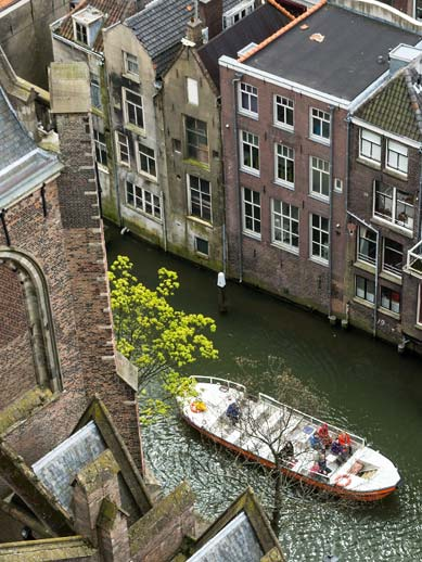 Boat tour in Dordrecht, Netherlands
