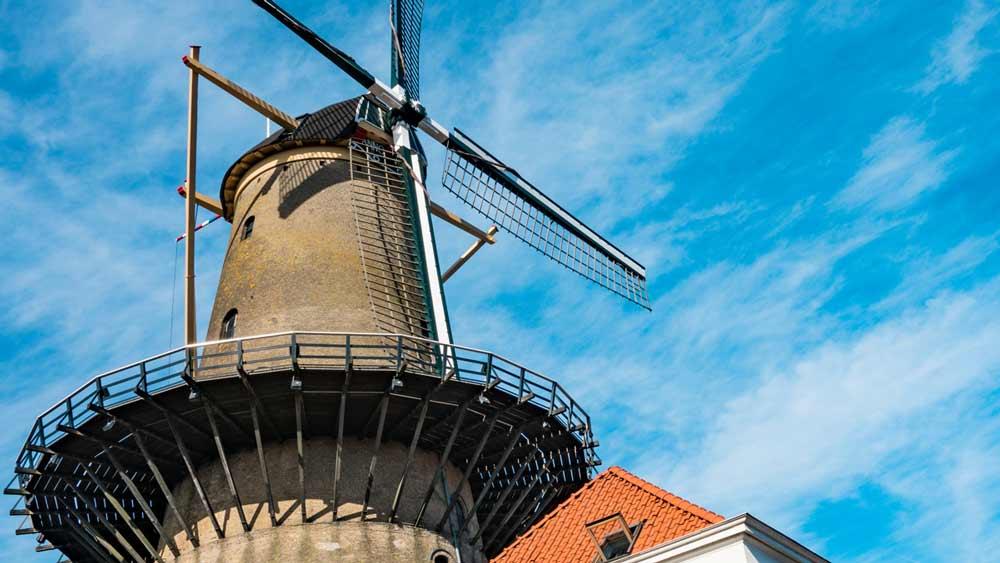 Kyck Over Den Windmill in Dordrecht, Netherlands