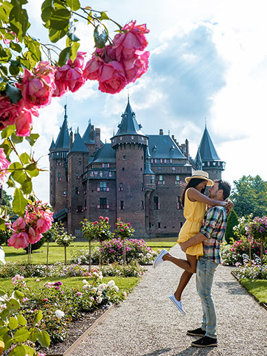 Castle de Haar in the Netherlands