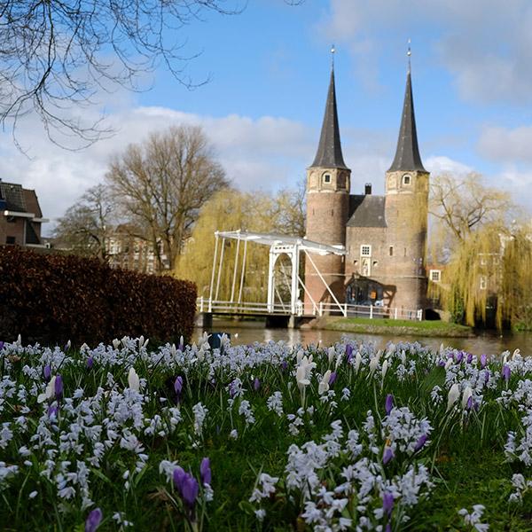 City Centre of Delft