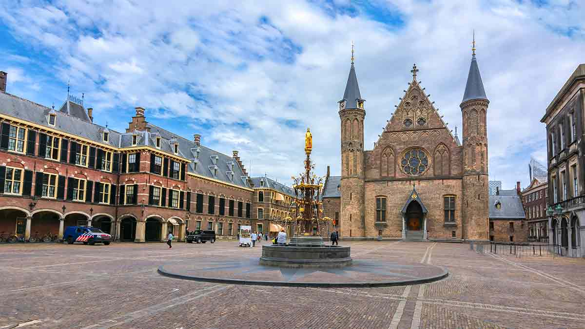 Ridderzaal Hall of Knights in The Hague