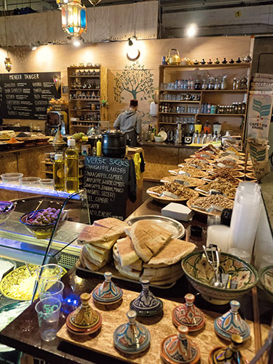 Morrocan Food Market In Rotterdam