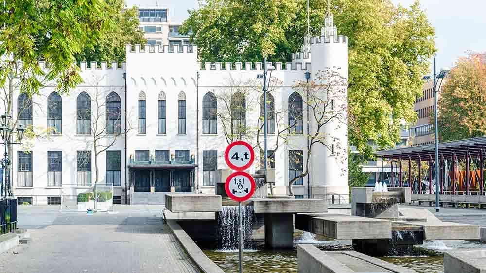 City Hall in Tilburg, Holland